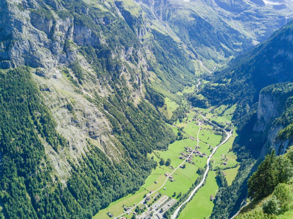 Klettersteig Lauterbrunnen : Klettersteig in der mauvoisin schlucht
